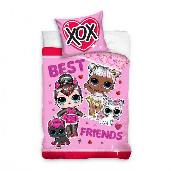 L.O.L Best Friends, 2 dalių patalynės komplektas