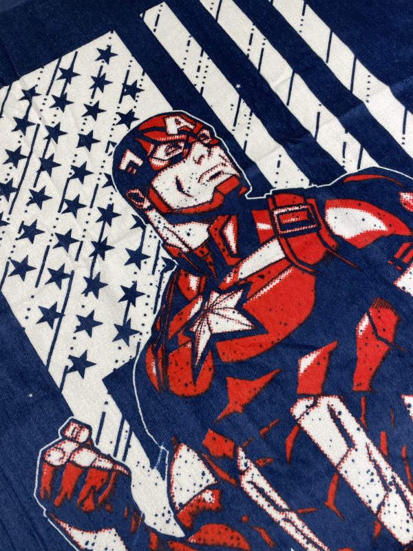 Captain america rankšluostis