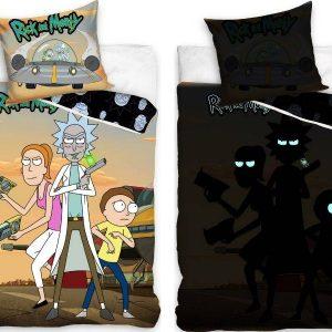 Rick And Morty (Fluorescent), 2 dalių patalynės komplektas